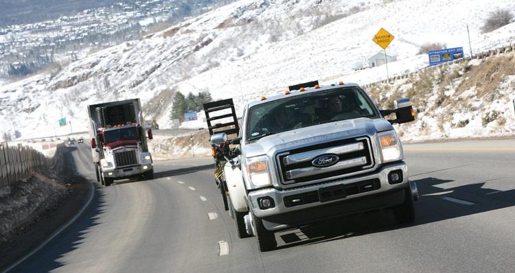hotshot express delivery western Canada